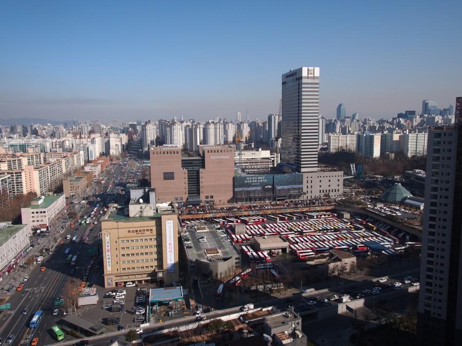 [비교] 2015년 강남종합버스터미널 일대 전경