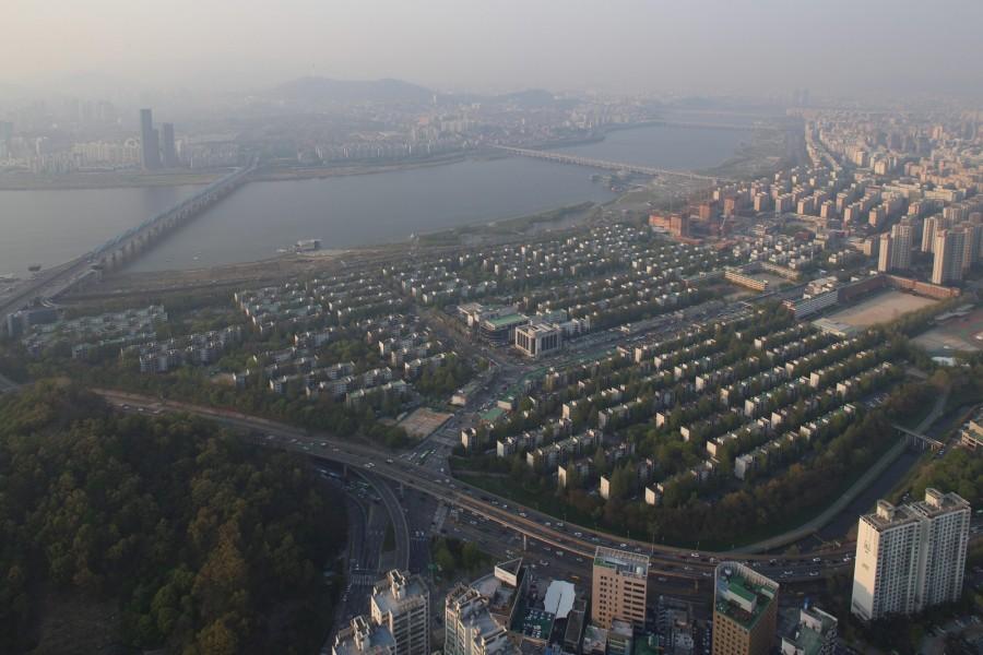 [비교] 2015년 반포주공 1단지 전경
