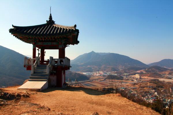 경남 산청 꽃봉산 전망대