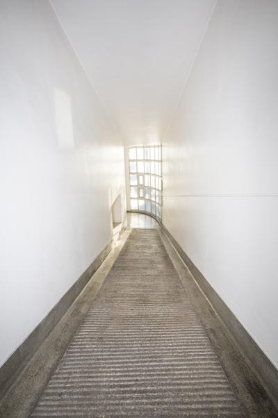 아리움사옥의 내부 모습.
