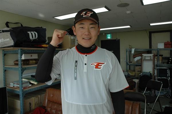 전 한화 이글스 선수 이영기 '야구 할 때가 행복하다'라고 밝힌 이영기 선수는 오늘 테스트를 받은 선수 중 한 명이다.