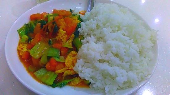중국 2위 - 토마토 덮밥