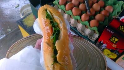 사파에서 아사를 면하게 해준 길거리 샌드위치