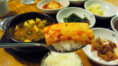 한국인은 역시 한식!