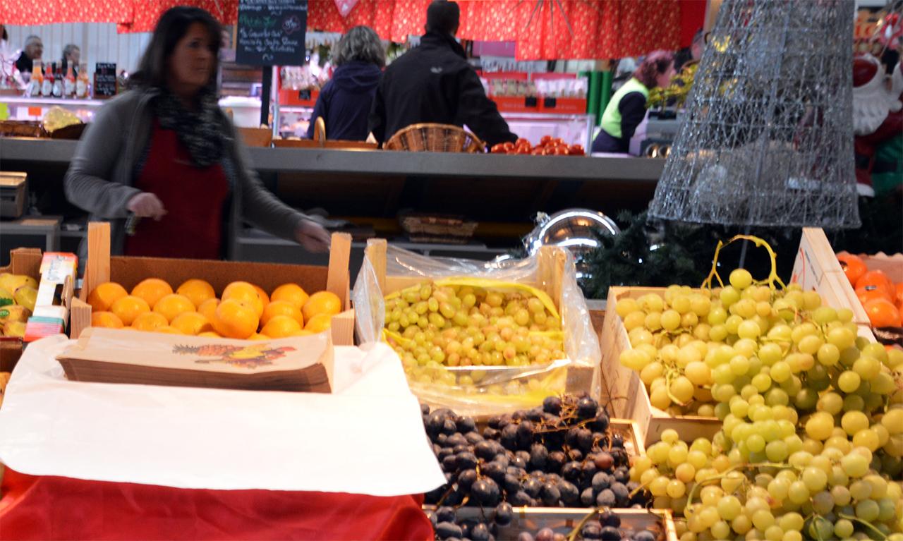 알자스 포도. 알자스의 따뜻한 태양을 받고 자란 이 포도가 유명한 알자스 와인을 만든다.