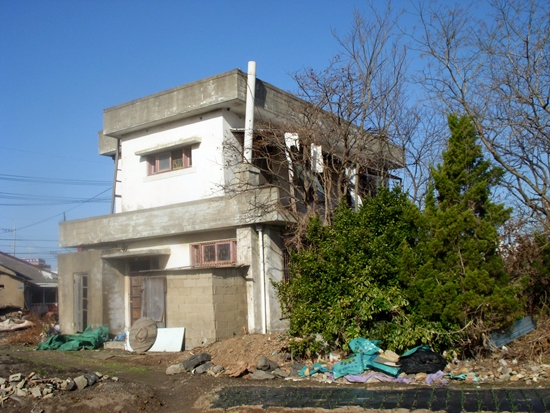 채금석 생가로 알려졌던 구암동 건물(2008년 촬영). 지금은 이조차도 볼 수 없게 됐다.