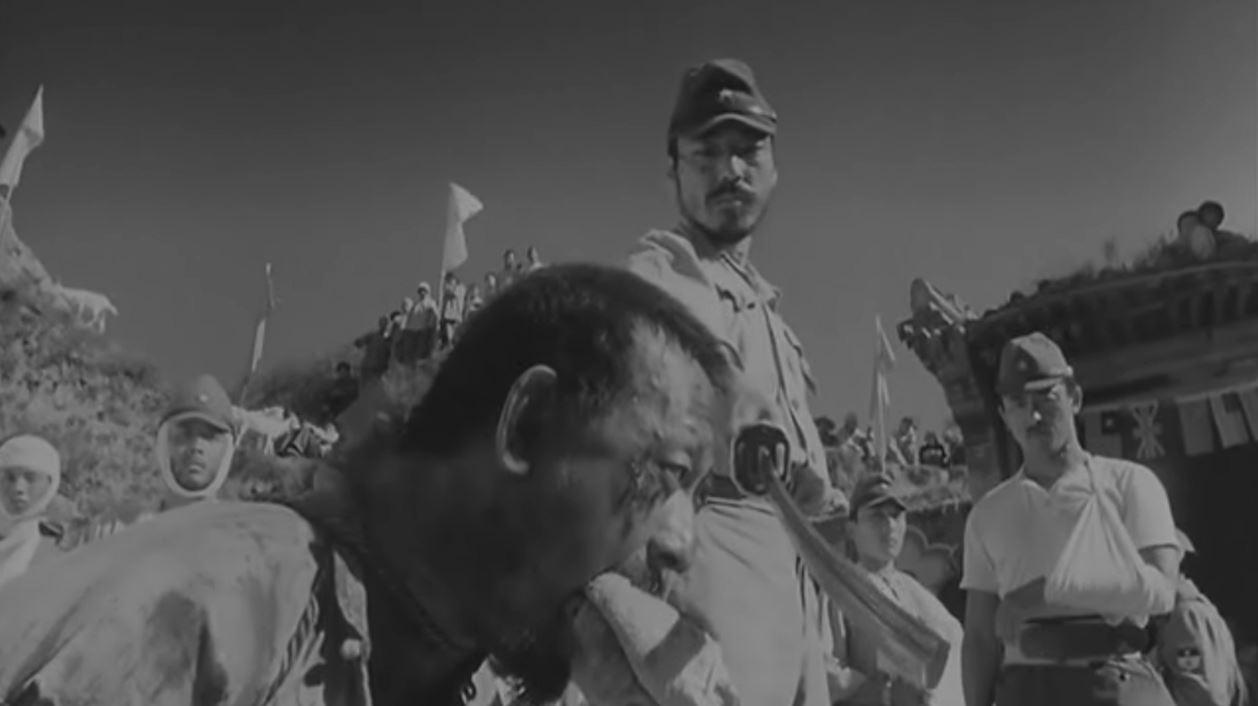 최후를 맞이하는 마다산 포로였던 하나야에 의해 마다산은 참수 당한다.