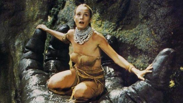 1976년작 <킹콩>의 여주인공 제시카 랭.