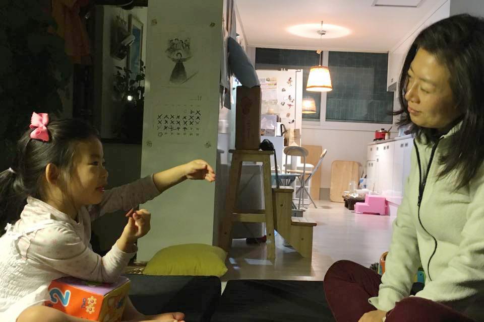 딸 서원이와 보내는 행복한 시간
