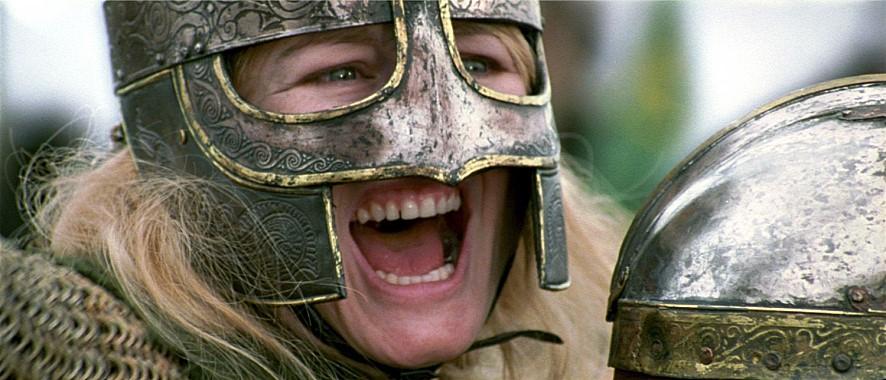 <반지의 제왕:왕의 귀환> 중 한 장면. 압도적인 스케일의 전쟁 장면은 이 영화의 백미다.