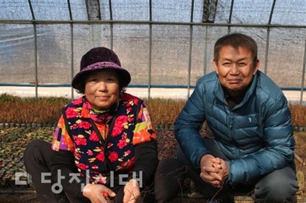 세상사는 이야기 석문면 통정리 김동석·이당고씨 부부