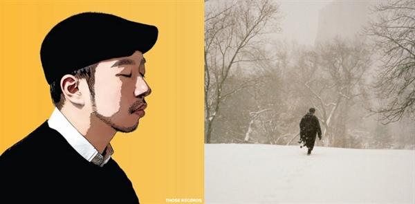 정키의 싱글앨범 < EMPTY >(왼쪽)와 정준일의 정규앨범 <더 아름다운 것>의 재킷.