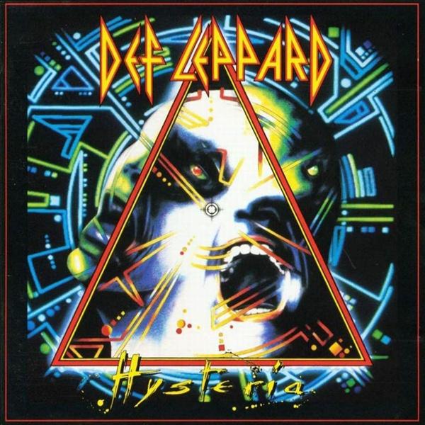 국내 뿐만 아니라 해외에서도 음원 서비스가 이뤄지지 않고 있는 데프 레파드의 1987년 걸작 음반 < Hysteria >.