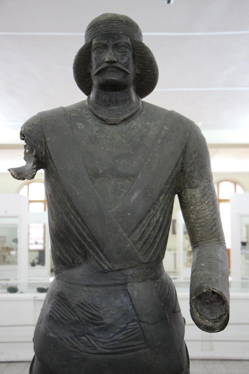 파르티아시대 청동상