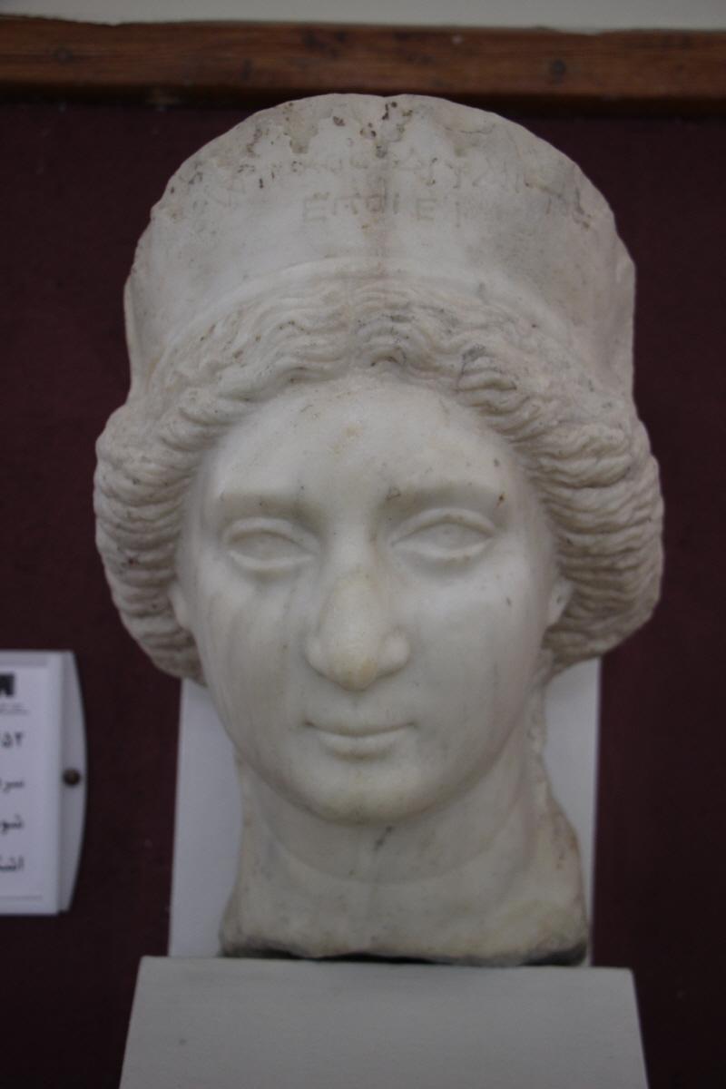 파르티아시대 대리석상