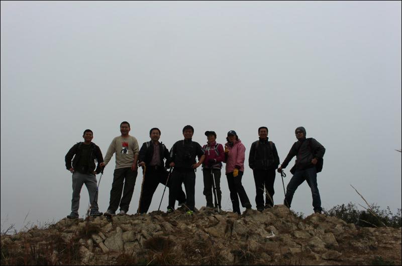 중국친구와 등산