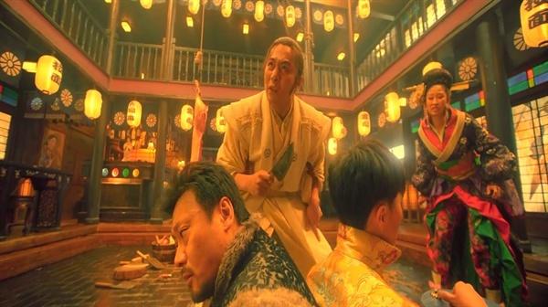 주자와 벙어리 아내 주자는 일본어를 구사하며 일본 장교의 환심을 사려고 노력한다.