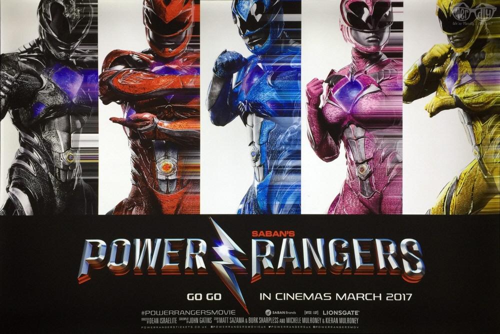 영화 <파워 레인저스>의 포스터. 흥행에 성공할 수 있을까.