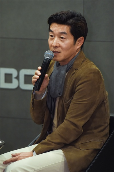 20일 서울 마포구 상암 MBC <역적:백성을 훔친 도적> 기자간담회. 김진만 PD, 김상중
