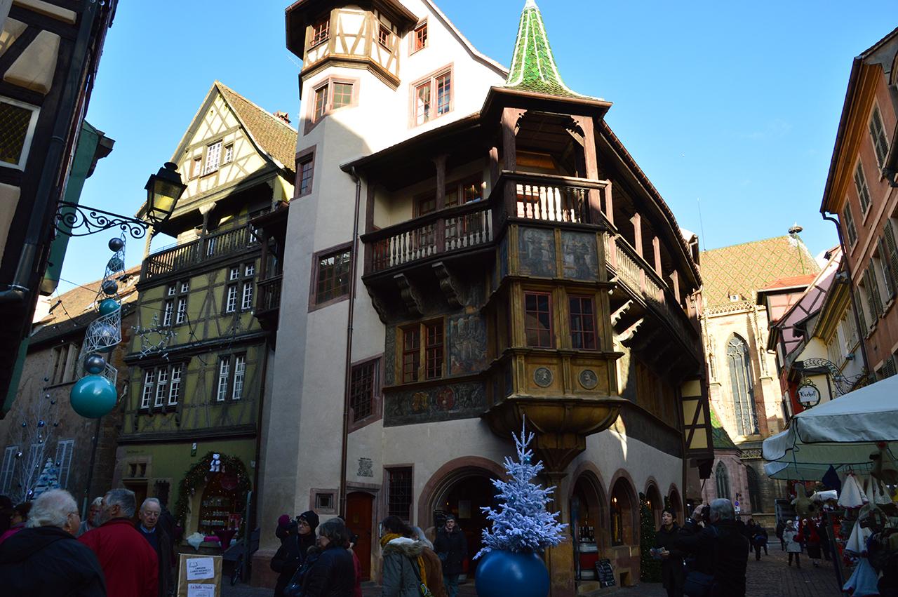 메종 피스테르. 르네상스 양식의 이 건물은 콜마르의 건축역사를 잘 보여주고 있다.