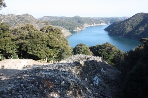 일본 쓰시마 가네다성 유적