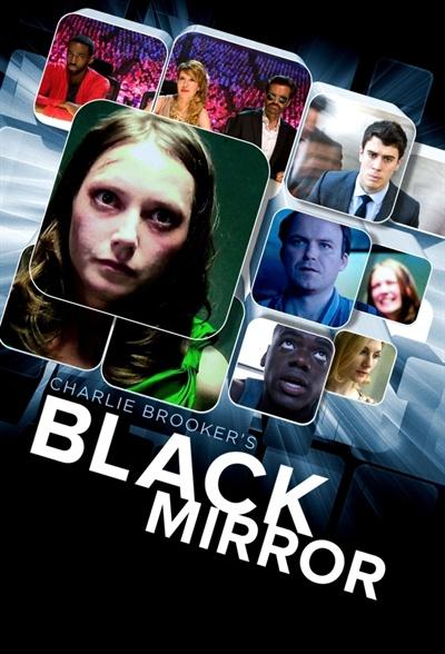 영국 드라마 <블랙 미러> 시즌1 포스터.