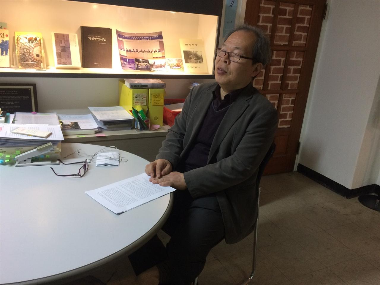 이준식 민족문제연구소 연구위원