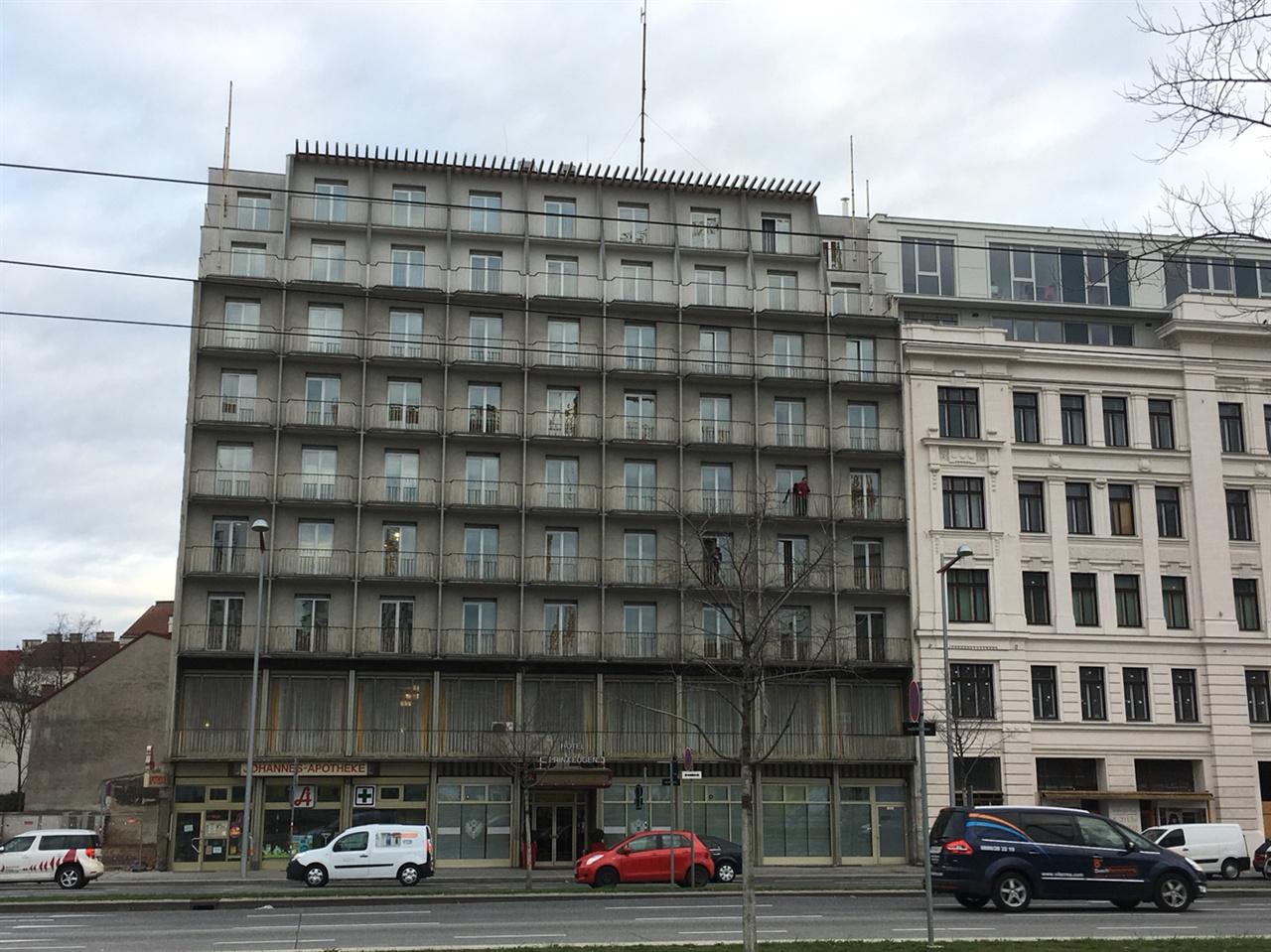 프린츠 오이겐 호텔의 모습