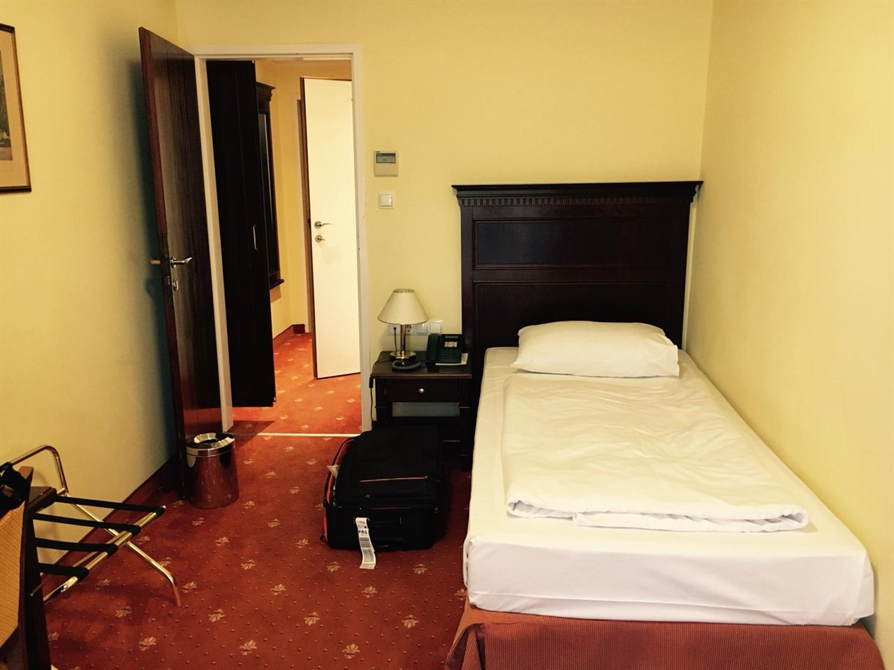 프린츠 오이겐 호텔 객실의 모습