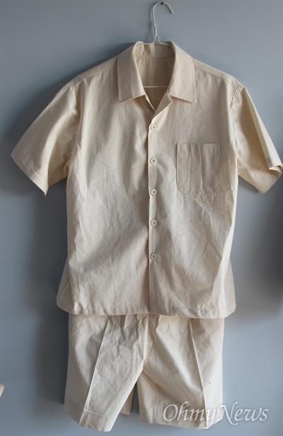 선감학원 소년들이 입던 옷(선감 역사박물관)