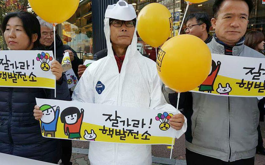 은퇴 후 삶의 대부분을 탈핵을 위해 헌신하고 있는 박종권 대표
