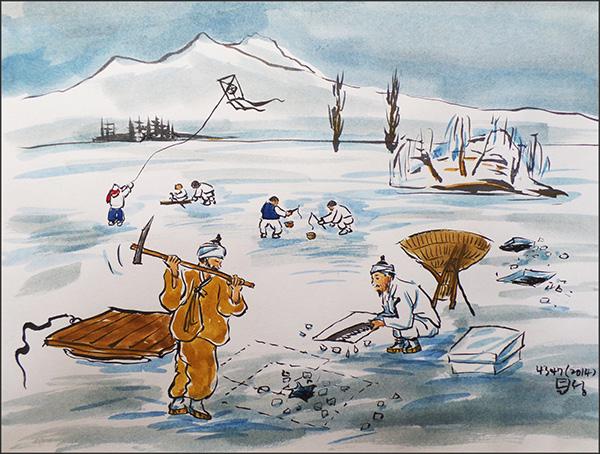 장빙군 한강에서 얼음뜨던 백성을 '장빙군'이라 했다