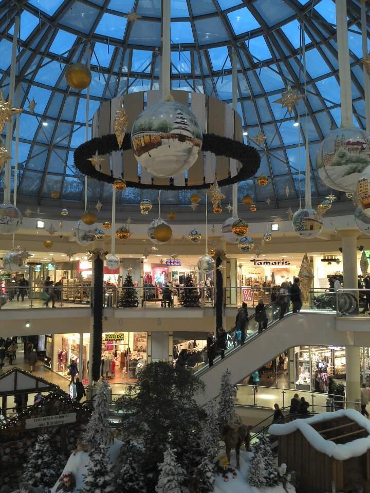 뮌헨의 한 쇼핑몰