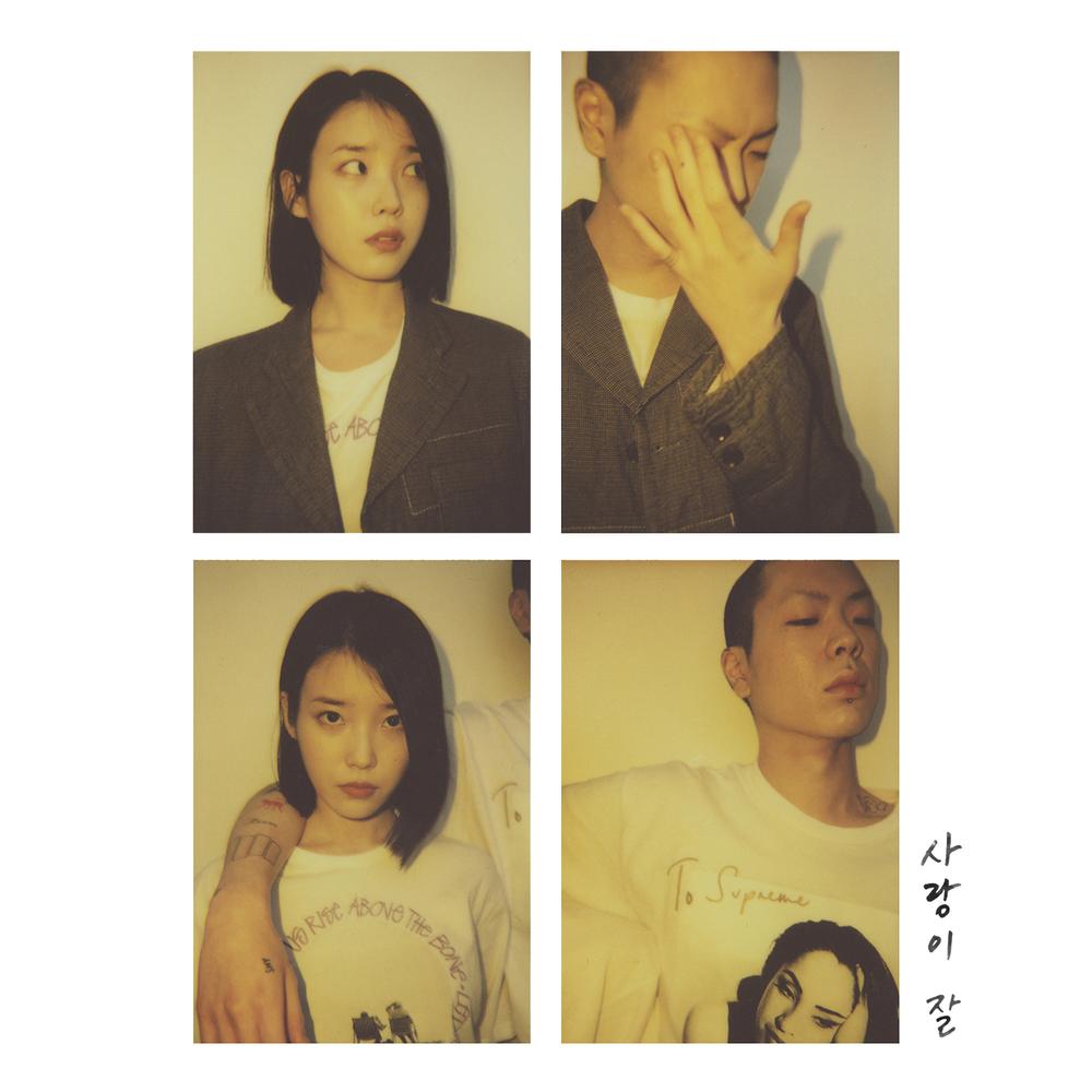 아이유의 싱글 `사랑이 잘` 표지.  음원 순위 개편 이후에도 아이유의 신곡들은 큰 어려움 없이 인기를 얻고 있다.