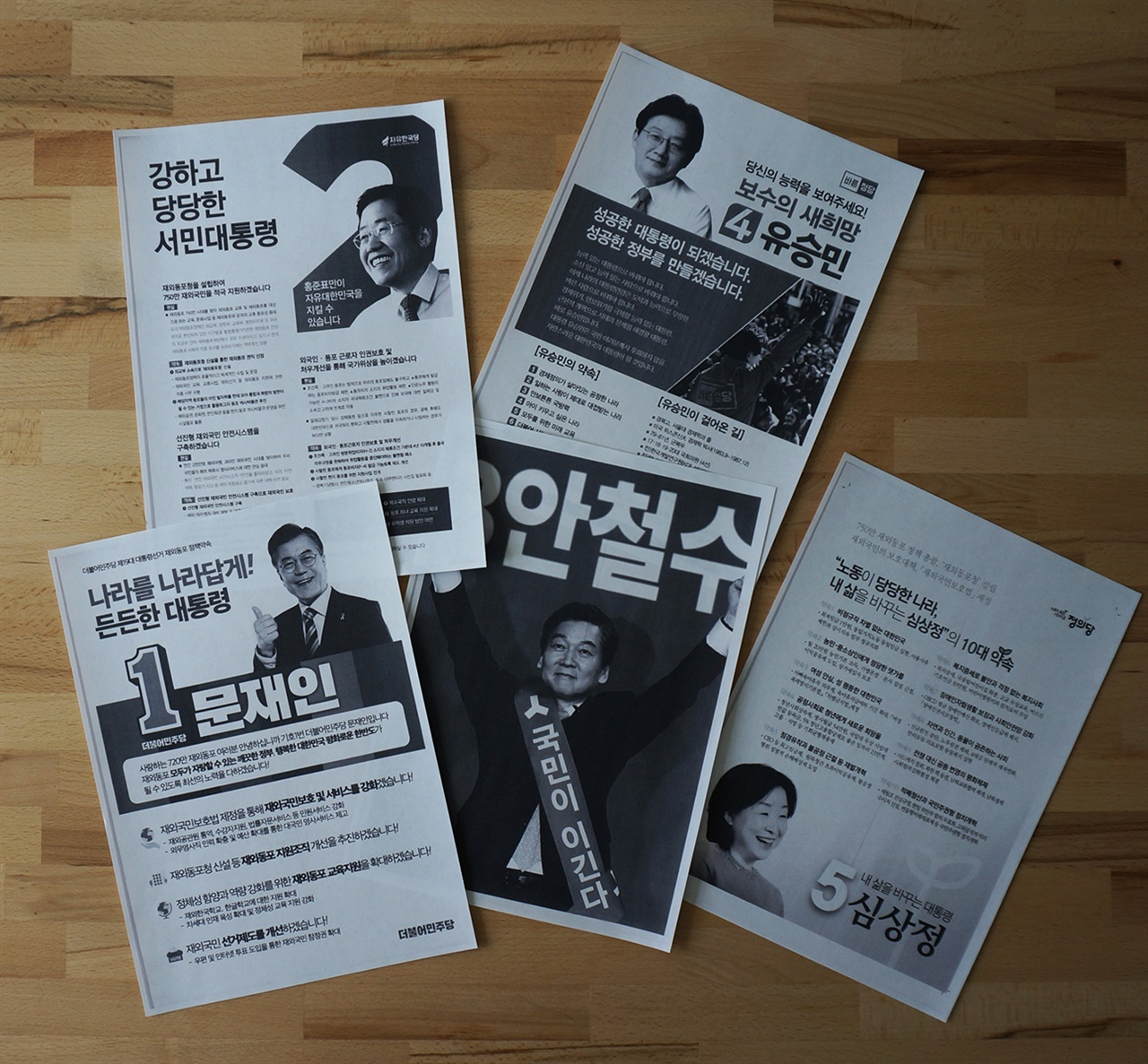 주 독일 대한민국 영사관 홈페이지에 게시된 제 19대 대통령선거 정당, 후보자 정보는 흑백 PDF파일로 되어있다.