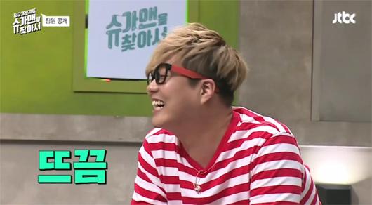지난해 종영한 JTBC `투유프로젝트 - 슈가맨`에 출연한 작곡가 신사동호랭이(방송화면캡쳐)