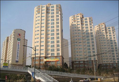 경기 판교신도시의 한 임대주택 단지