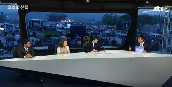 JTBC <뉴스룸>의 19대 대선 개표방송