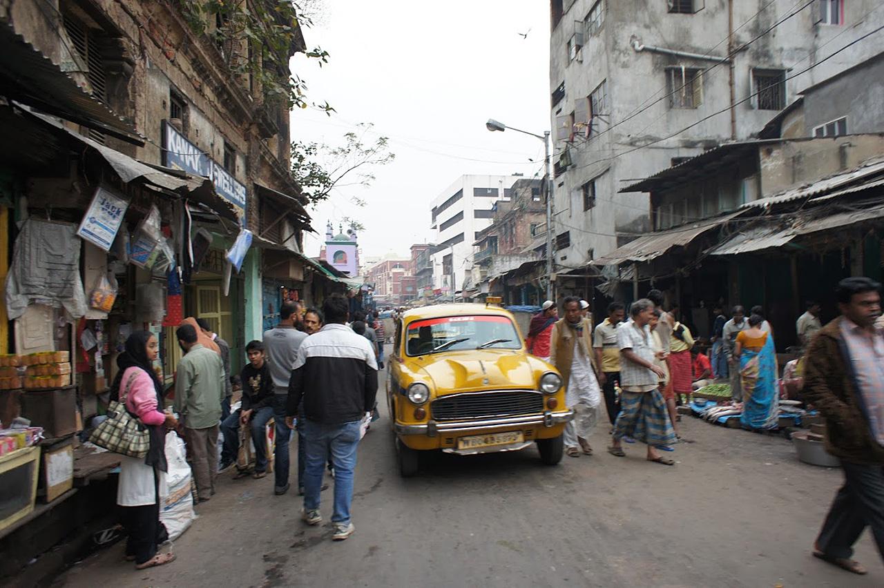 다시 가고싶은 콜카타 거리.