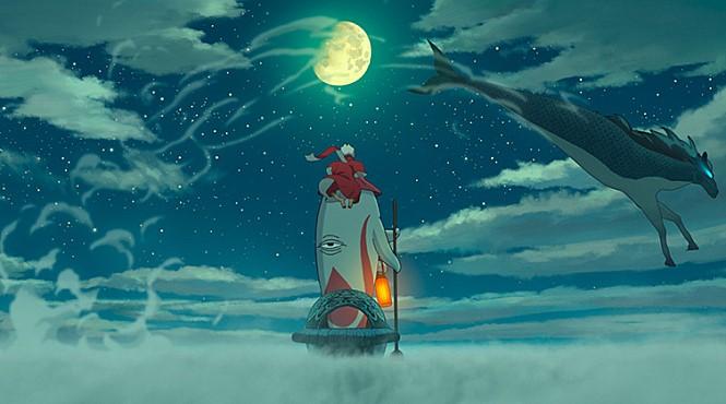 <나의 붉은 고래>의 한장면