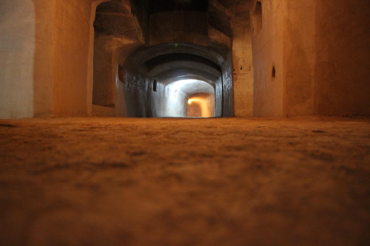 지하 기도실