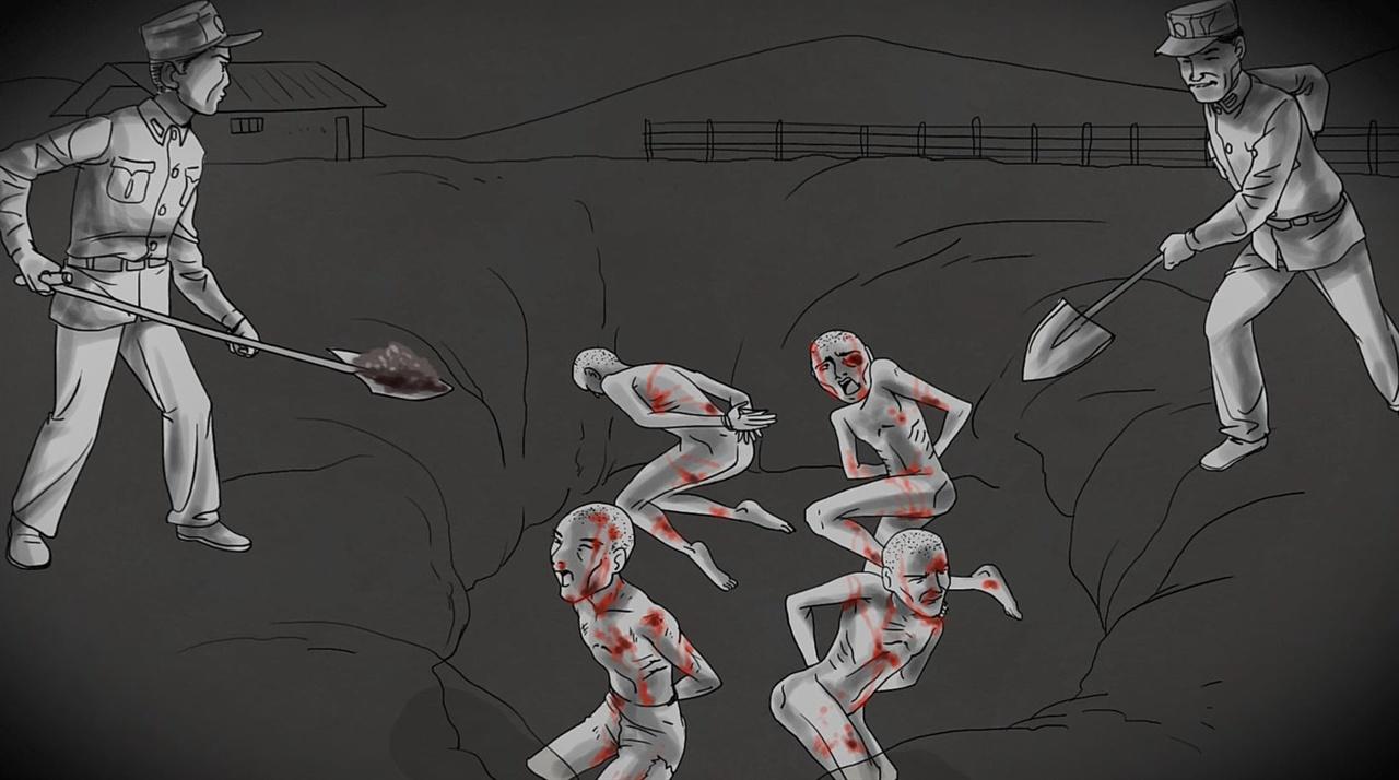 국방부가 초등학생에게 보여준 동영상.
