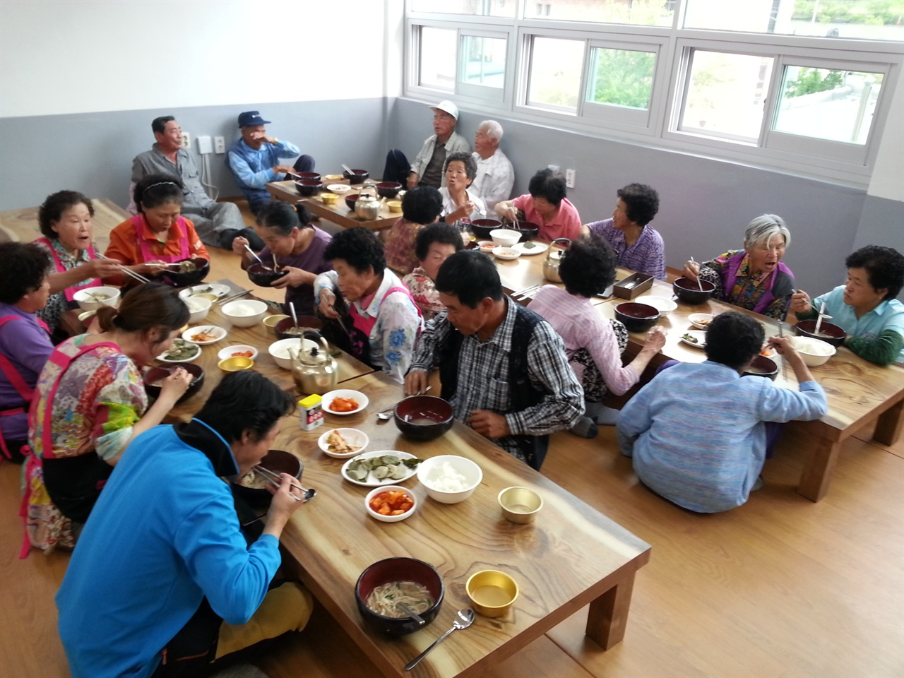 무주 초리넝쿨마을 무주 초리넝쿨마을의 마을공동식당