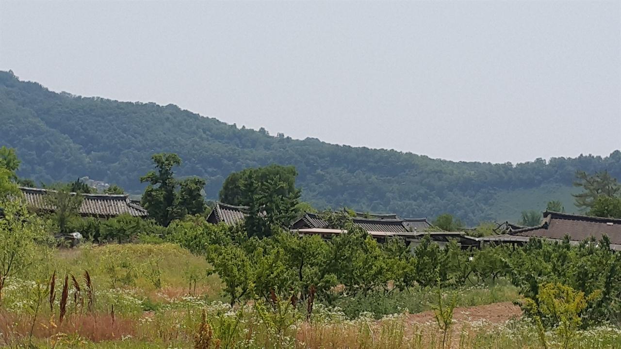이목 선생이 사셨던 마을 이목 선생이 사셨던 경북 의성군 금성면 산운리의 산운 이씨 동족 마을