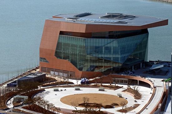 인천경제자유구역에 있는 아트센터인천.