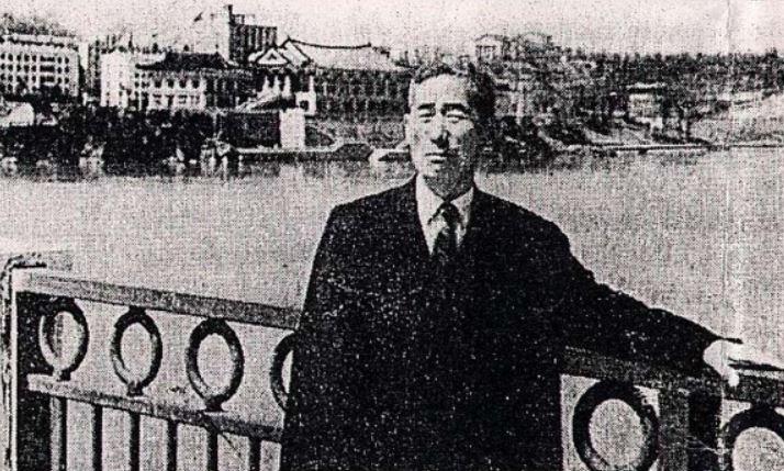 남쪽에 알려진 박열 의사의 마지막 모습. 1968년 67세 당시로 추정된다.