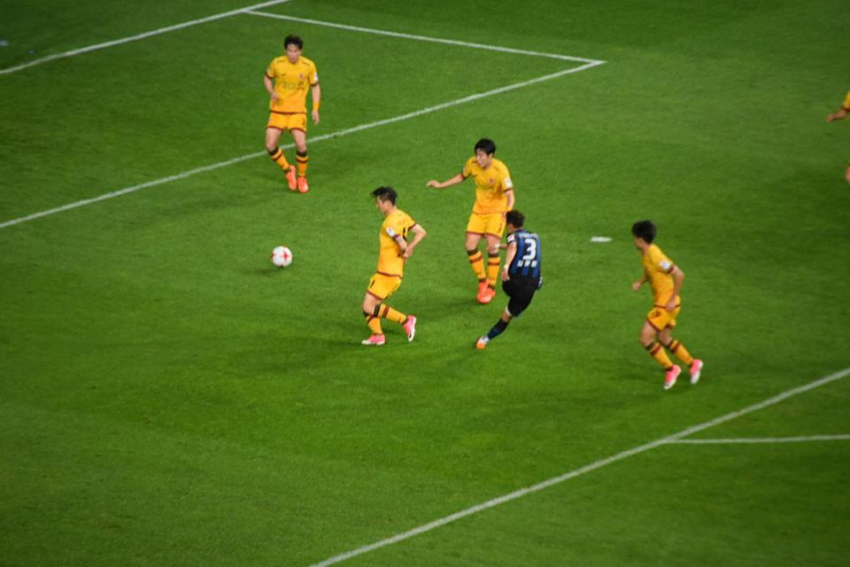85분, 인천 유나이티드 FC 김용환의 왼발 슛이 오른쪽 구석으로 빨려들어가는 순간!