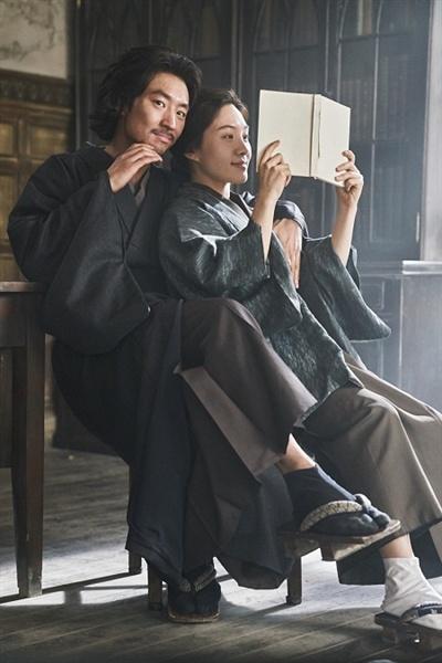 영화 <박열>의 한 장면. 박열과 가네코 후미코.