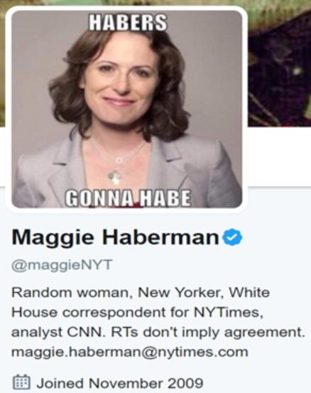 "WP는 '투명성을 높여라' 규정에서 ""프로필에 링크와 리트윗을 한 내용이 '보증'을 뜻하지 않는다는 걸 명시하는 말을 포함해야 한다""고 명시한다. NYT 기자의 트위터 프로필에는 직장명과 직위, '리트윗은 동의를 뜻하지 않는다'는 말이 적혀 있다."