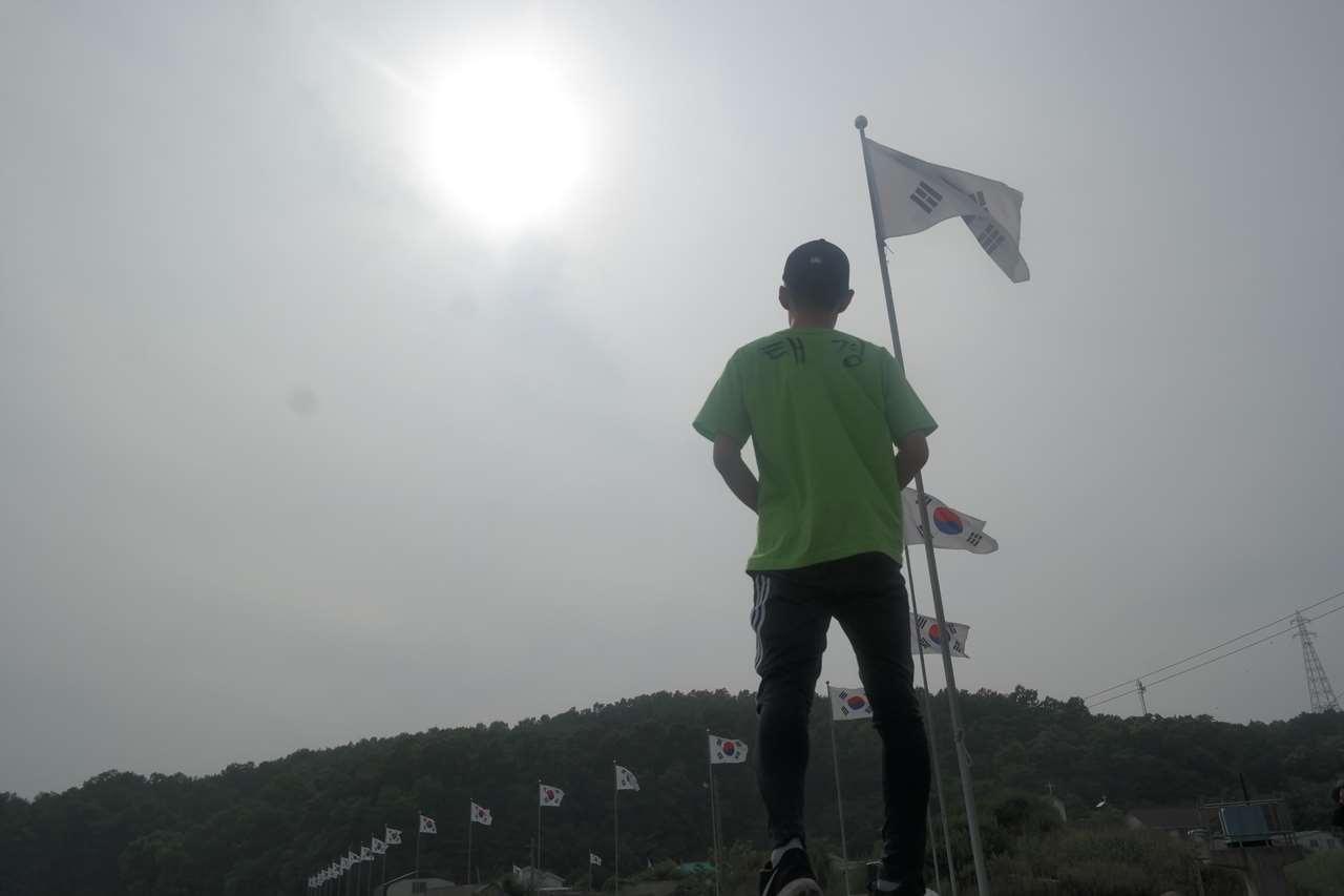 시각장애인 사진가 작품 김유수(안마업)